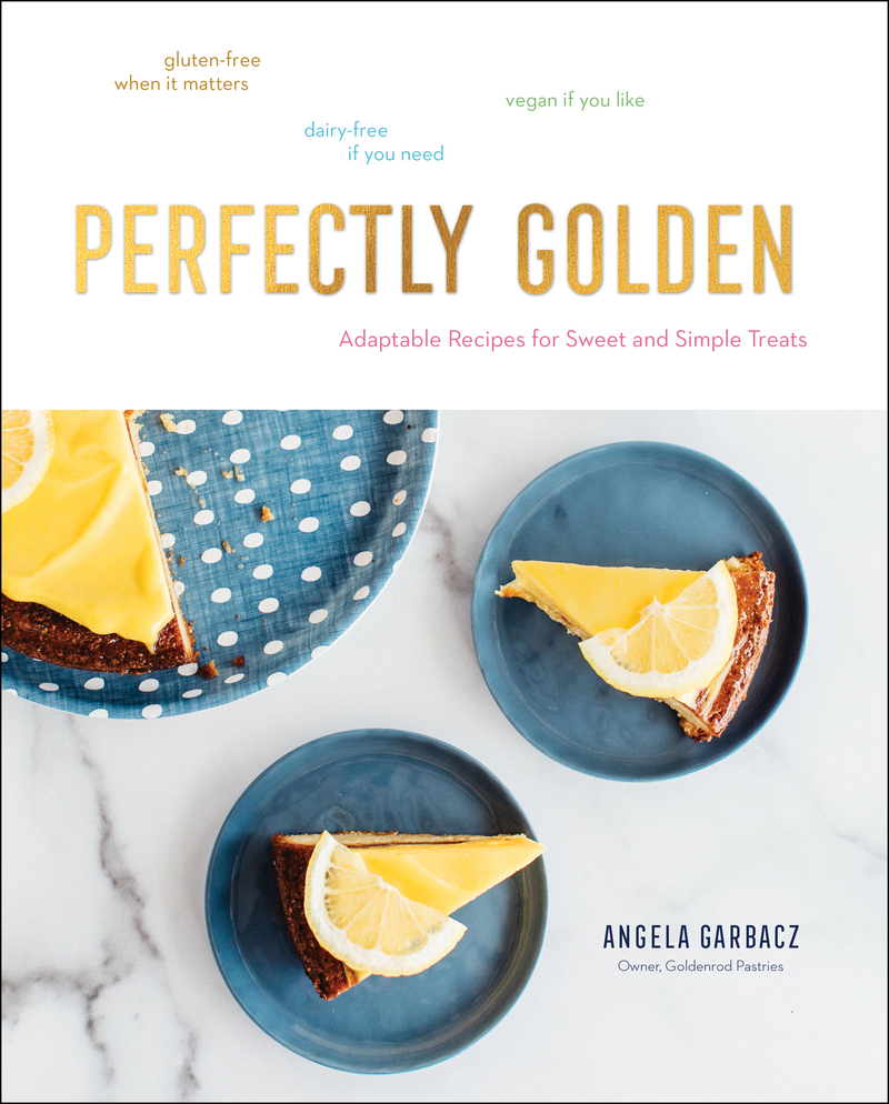 Book cover for Perfectly Golden by Angela Garbacz