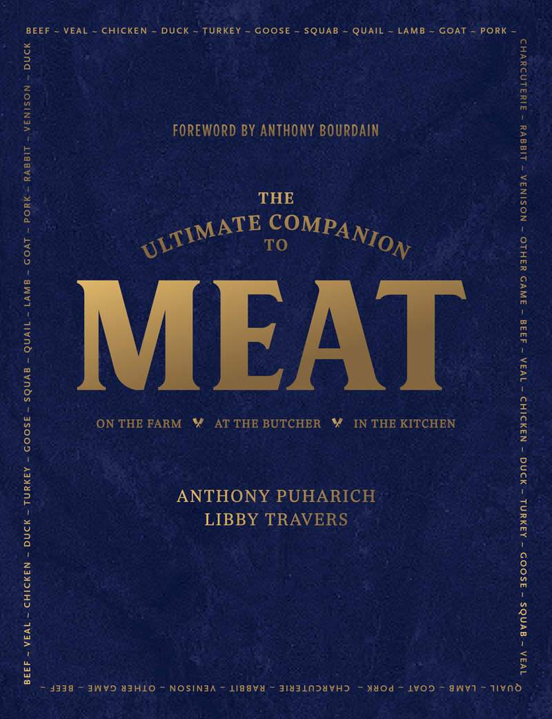 Book cover for The Ultimate Companion to Meat by Anthony Puharich