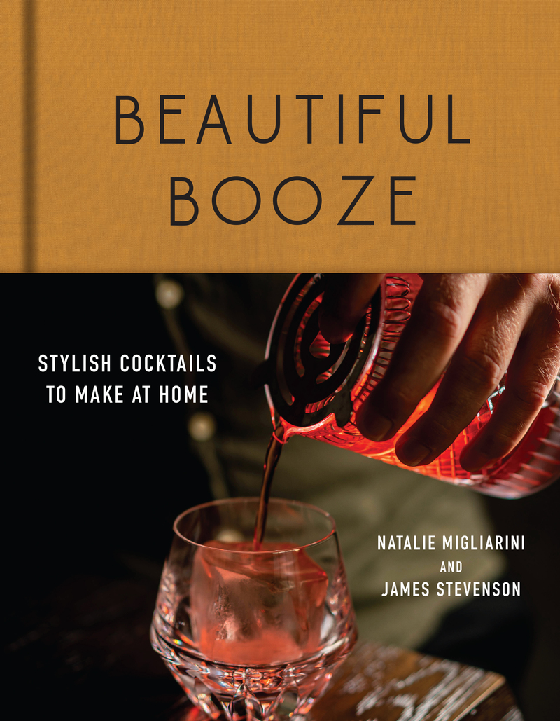 Book cover for Beautiful Booze by Natalie Migliarini