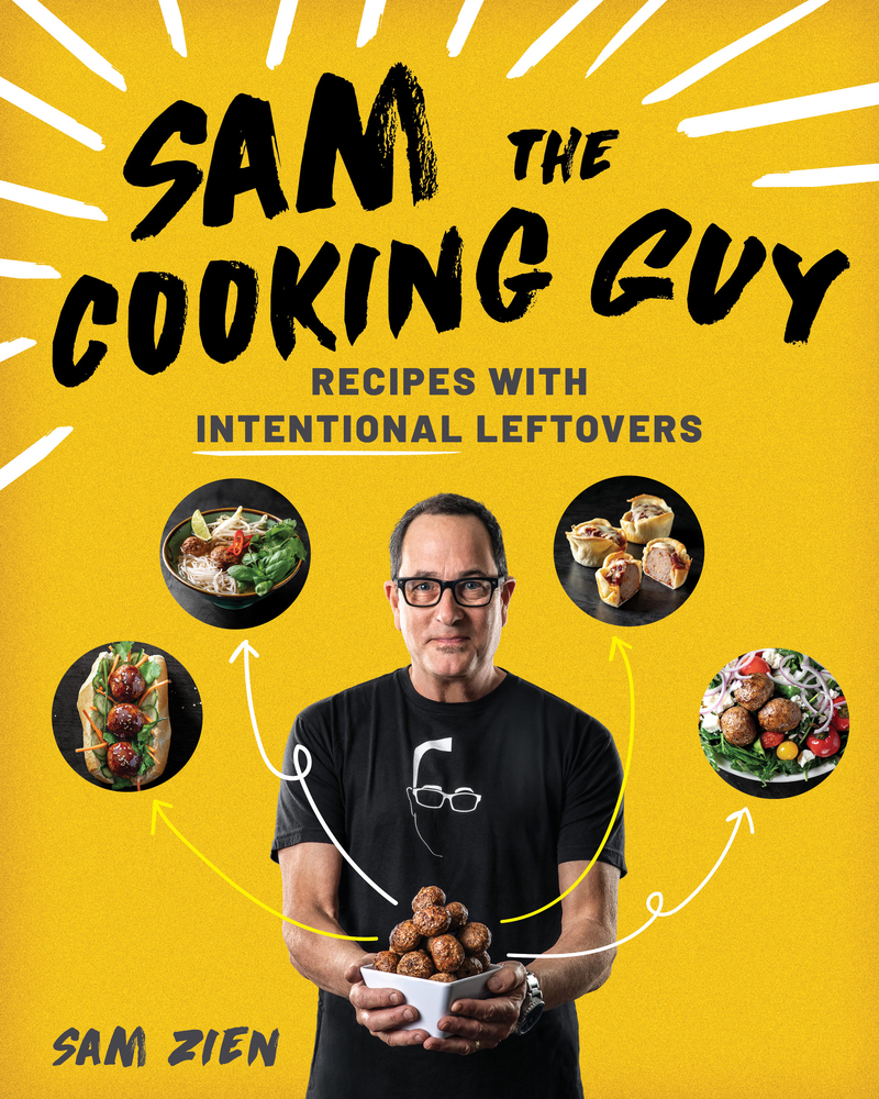 Book cover for Sam the Cooking Guy by Sam Zien